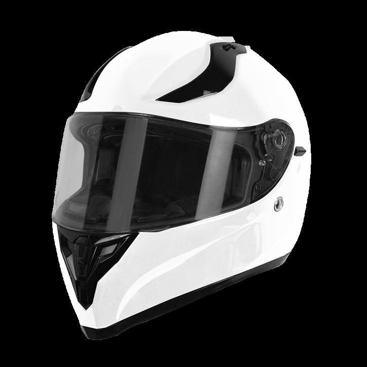 Шлем (интеграл) Origine STRADA Solid белый глянцевый,