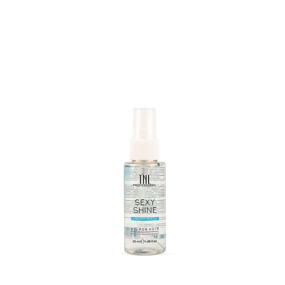 Масло-флюид для волос TNL, Sexy Shine, авокадо, 50 мл