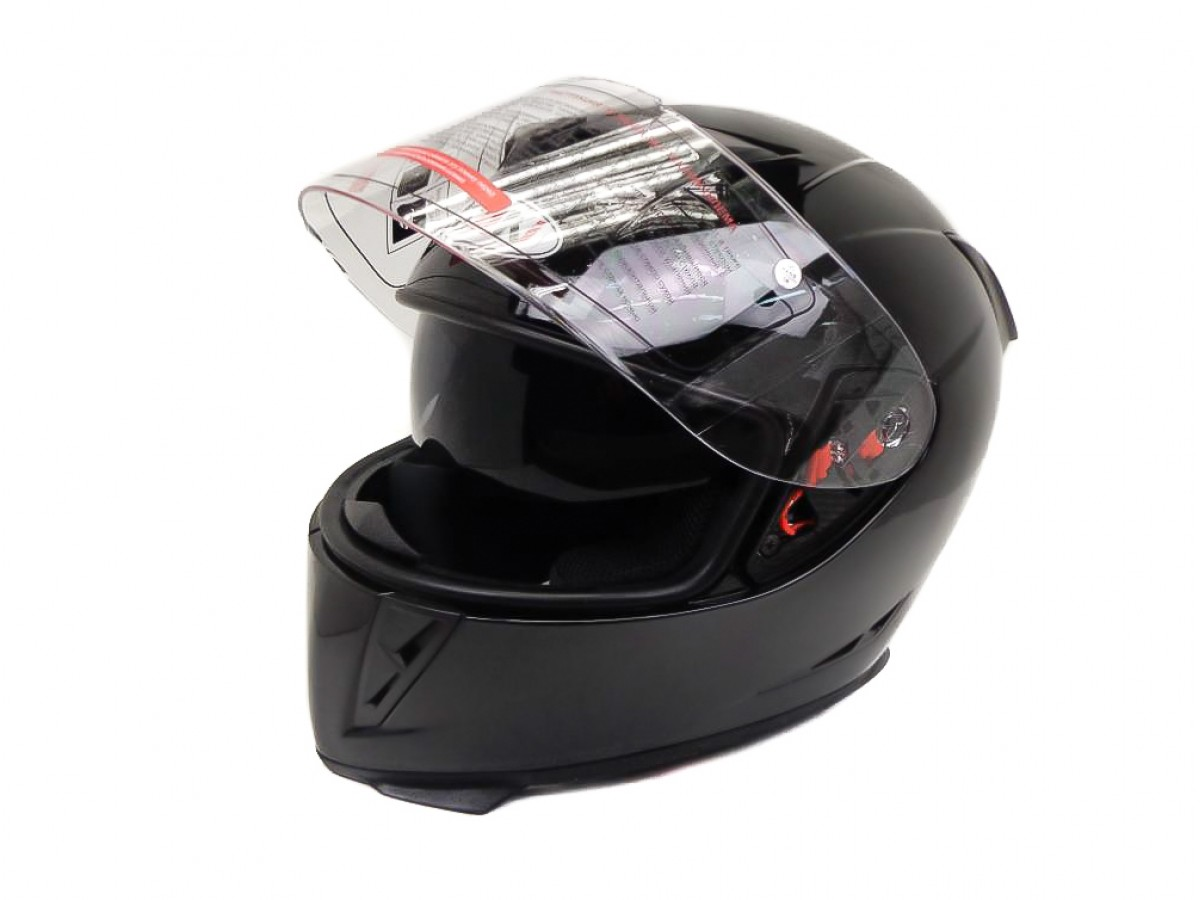 Шлем (интеграл) Ataki FF311 Solid черный глянцевый,