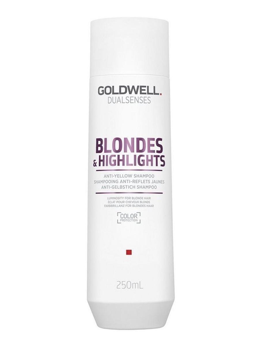 Купить Шампунь против желтизны для осветленных волос Goldwell DS BL&HL 250 мл