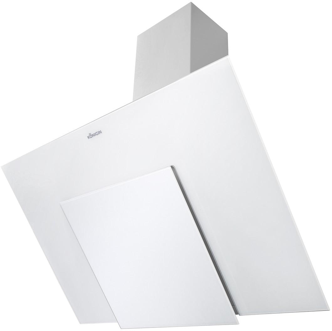 Вытяжка наклонная Konigin Cleona 90 White/Silver
