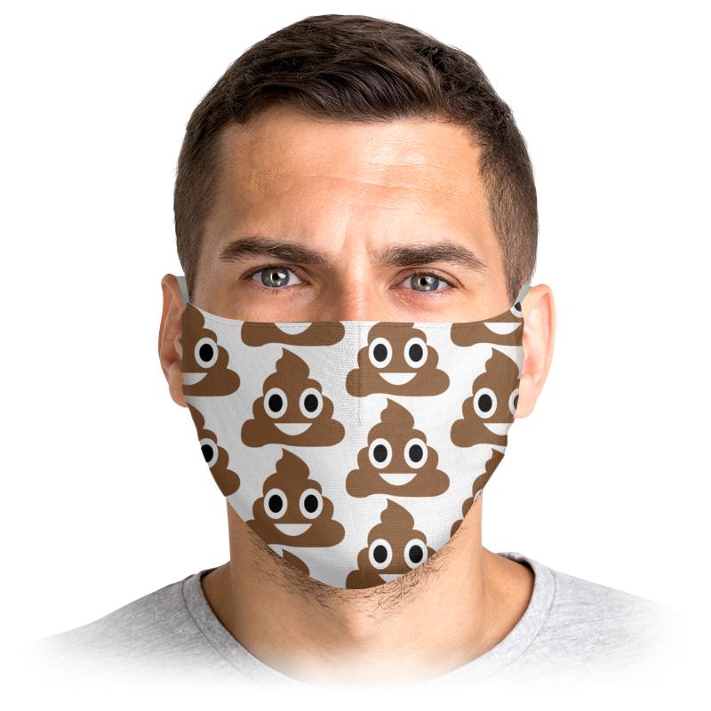 Многоразовая защитная маска Printio Смайл 3250195 1 шт.
