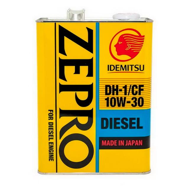 Масло IDEMITSU ZEPRO Diesel DL-1 5W30 моторное полусинтетическое 4 л