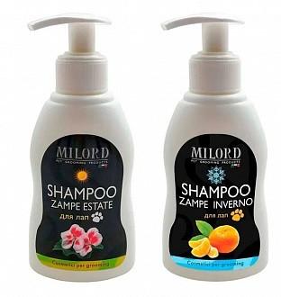 Набор косметики для мытья лап Milord: шампунь