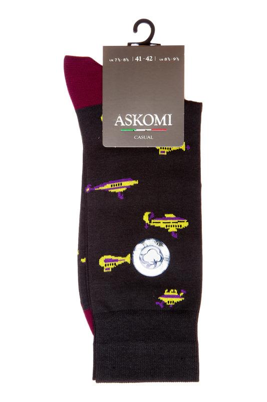 Носки мужские ASKOMI АМ-6260 серые 27 ASKOMI   фото