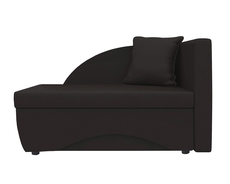 Кушетка Шарм Дизайн Трио экокожа коричневыйправый