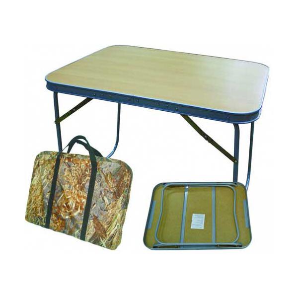 Туристический стол Смаз Алабия Пикник коричневый
