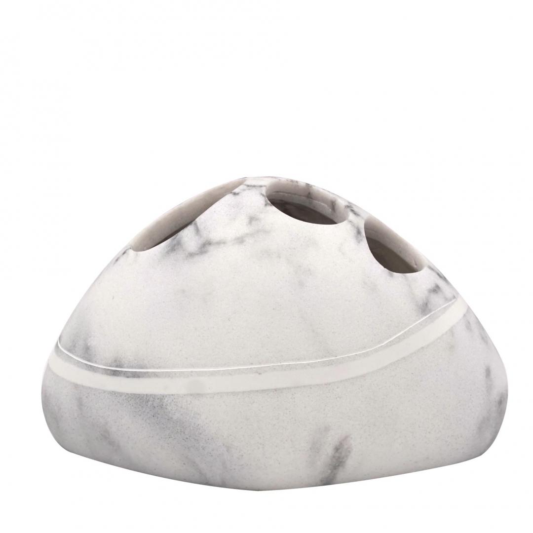 Стаканчик для зубной щётки Little Rock белый по цене 1 472