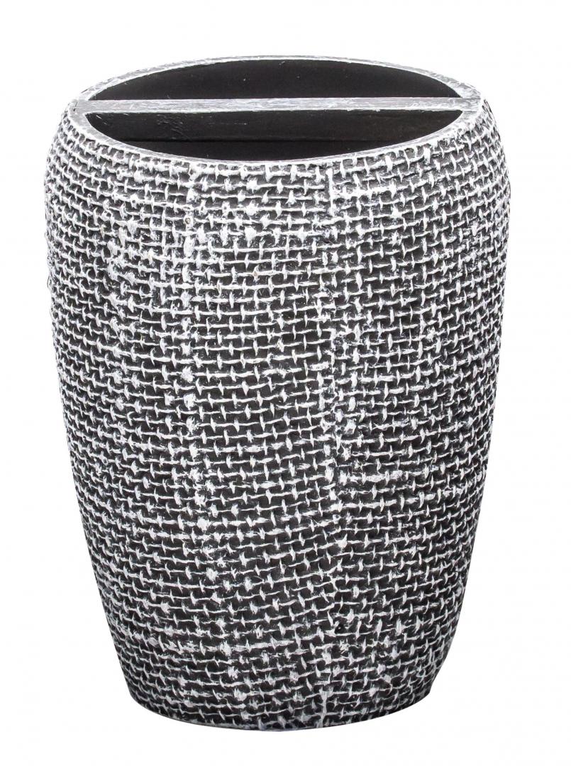 Стаканчик для зубной щётки Tessuto тёмно-серый по цене 764