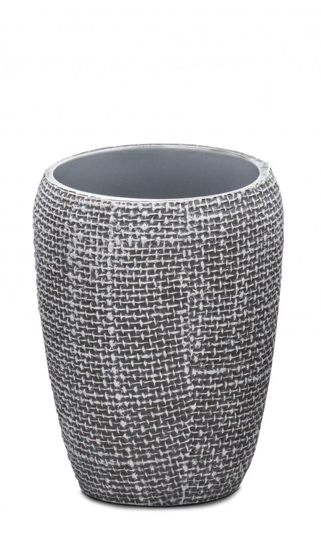 Стаканчик Tessuto тёмно-серый по цене 730