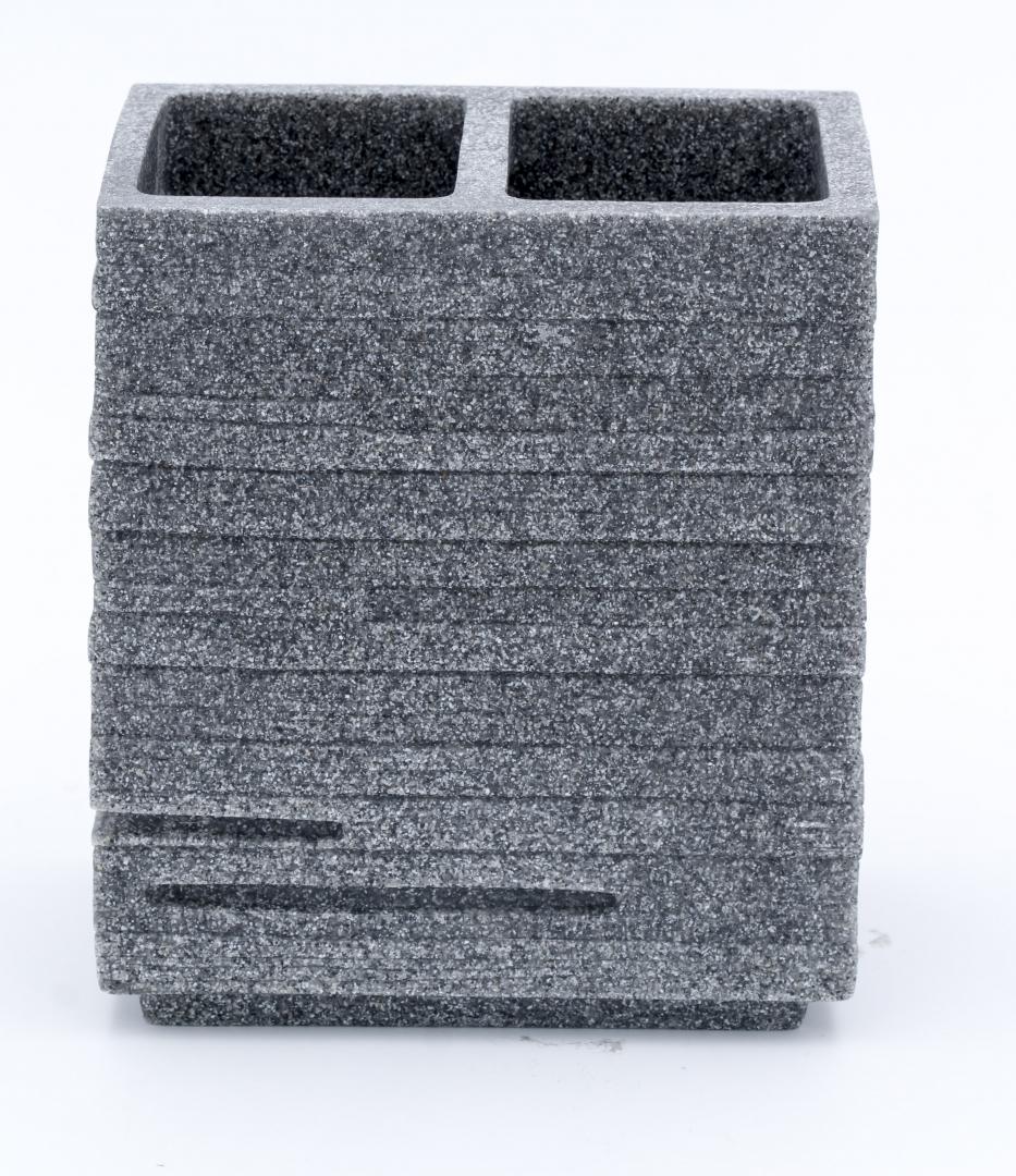 Стаканчик для зубной щётки Brick серый по цене 1 279