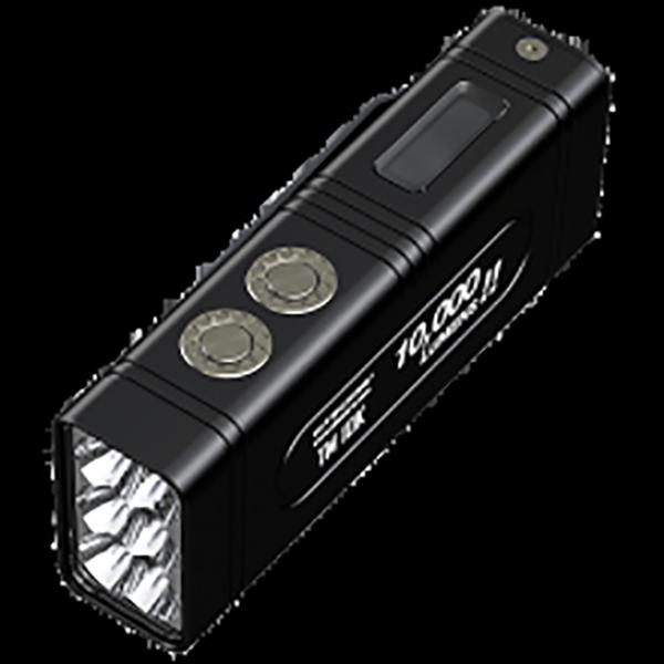 Ручной фонарь NITECORE TM10K, черный [17683]