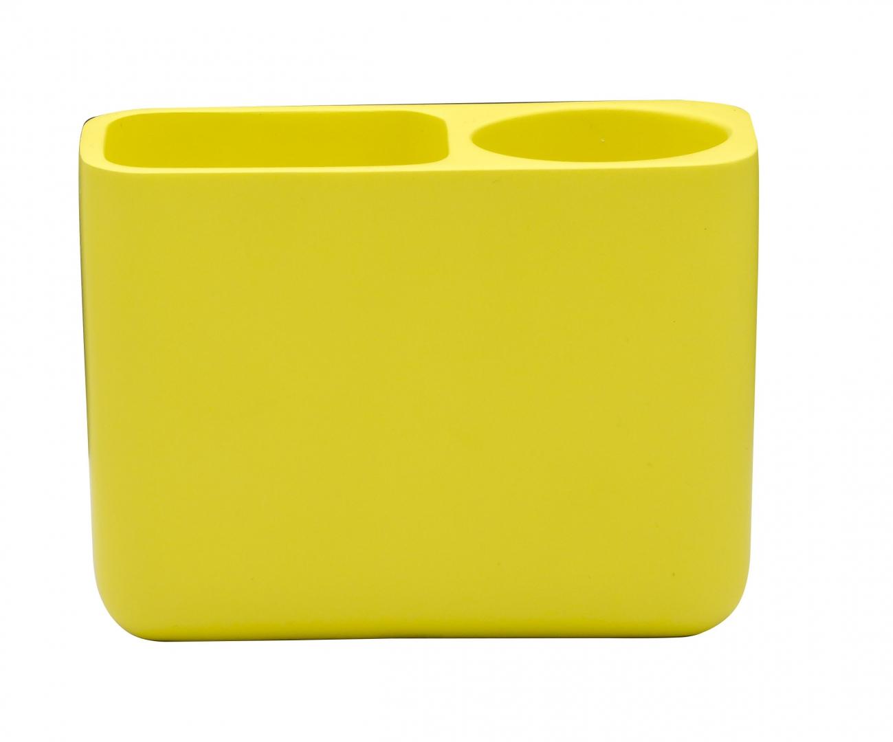 Стаканчик для зубной щётки Young жёлтый по цене 1 186