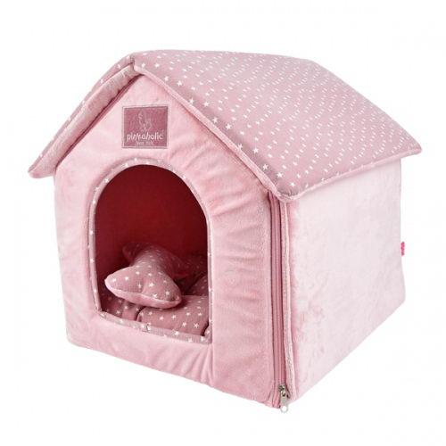 Домик для собак Pinkaholic Luna House, розовый,