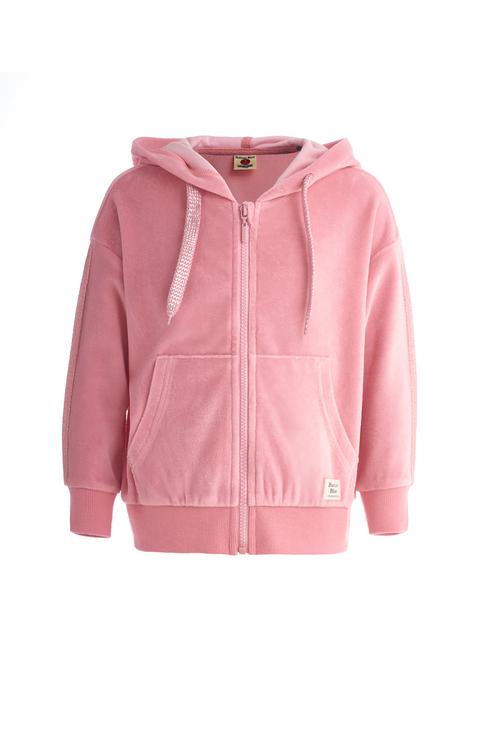 Купить 119BBGC16014300, Толстовка для девочки Button Blue, цв.розовый, р-р 116,