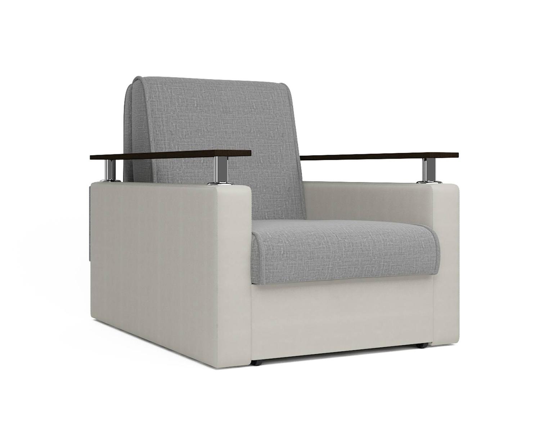 Кресло кровать Шарм беж серый