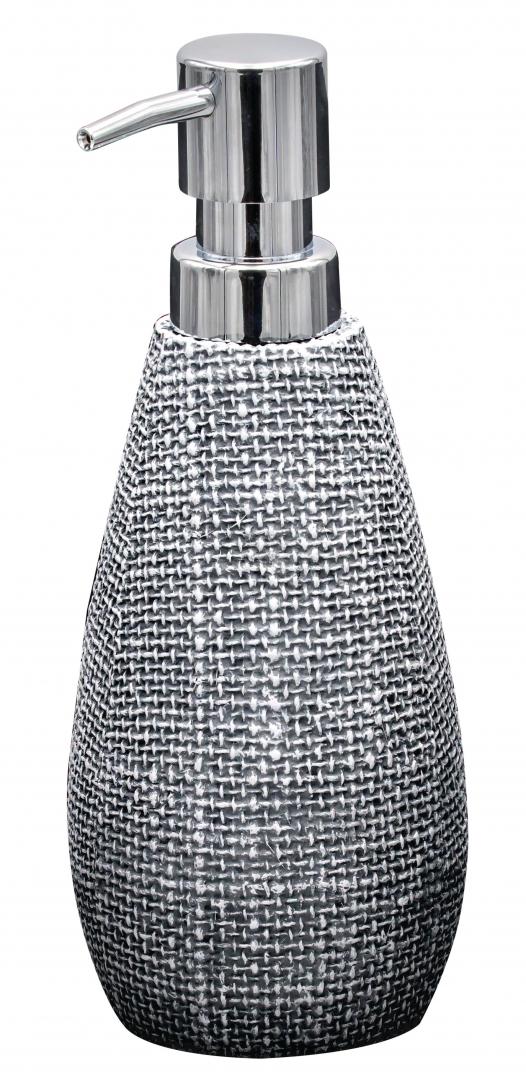 Дозатор для жидкого мыла Tessuto тёмно-серый по цене 1 000