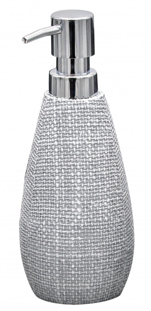 Дозатор для жидкого мыла Tessuto светло-серый по цене 1 000