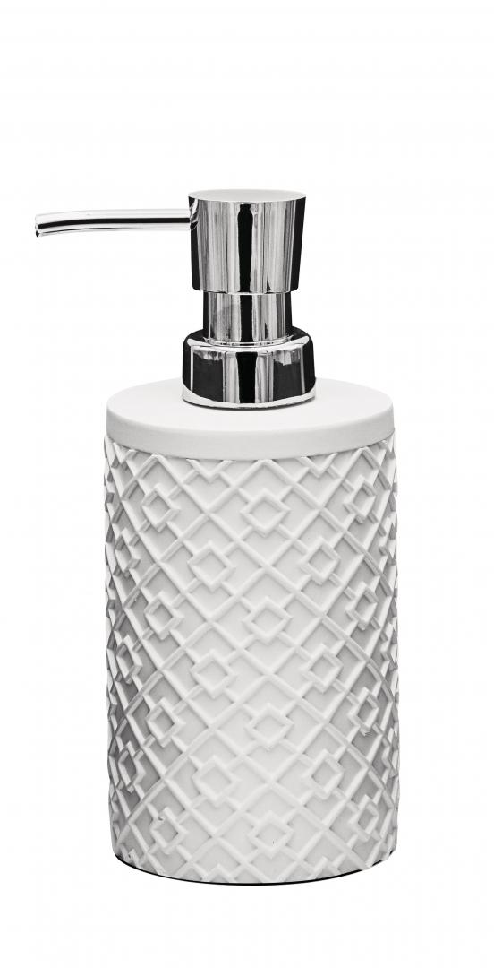 Дозатор для жидкого мыла Squad белый по цене 1 000