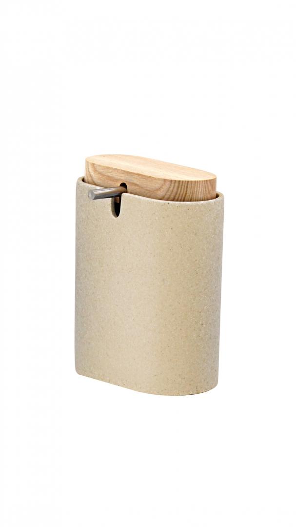 Дозатор для жидкого мыла Sassy бежевый по цене 1 781