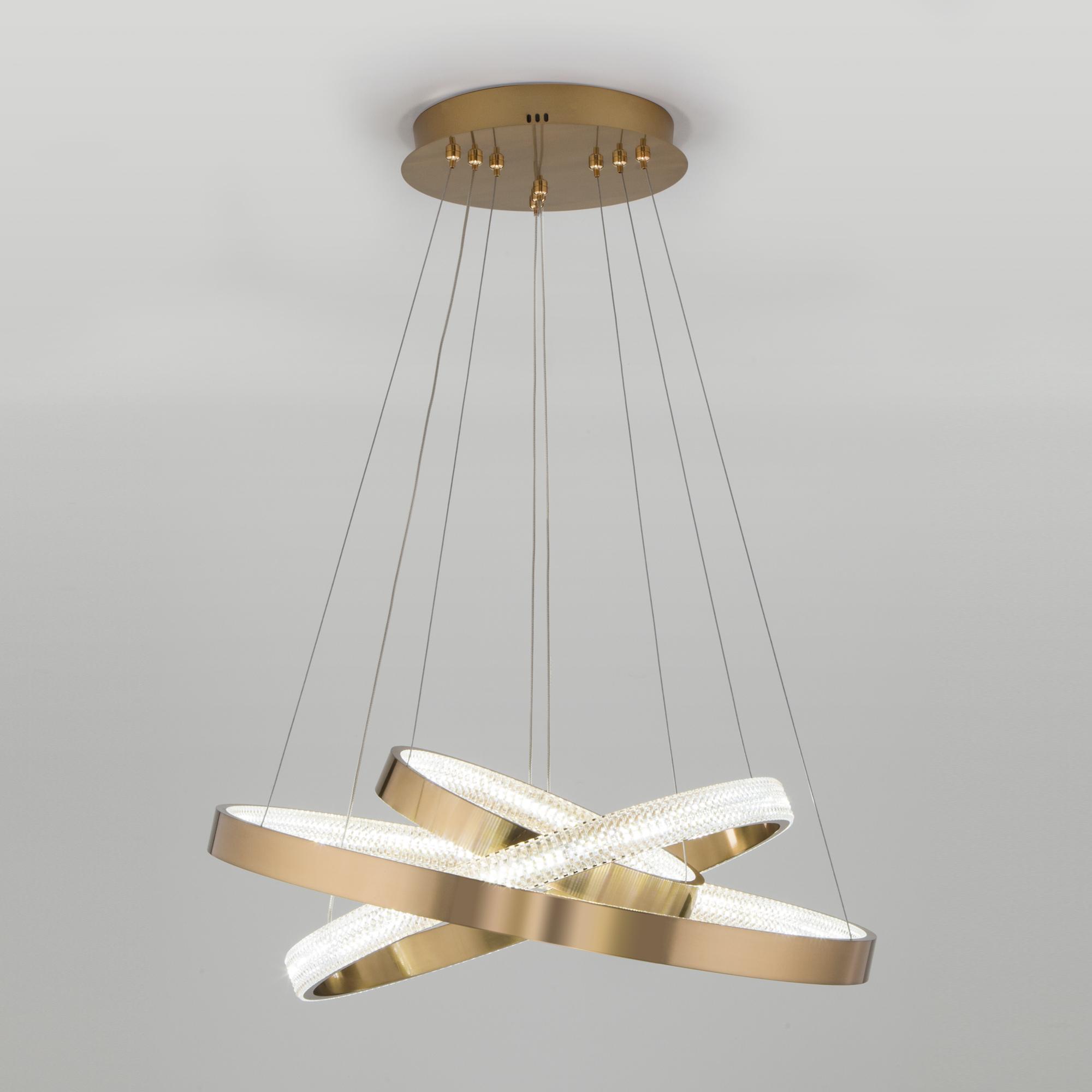 Светодиодная люстра с управлением по Wi
