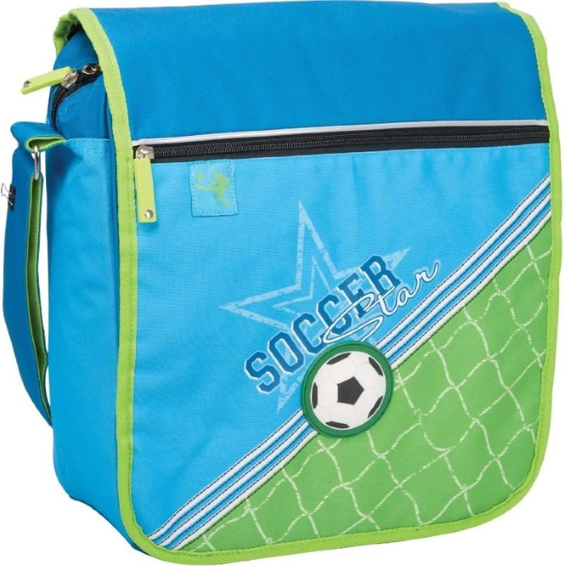 Сумка детская ErichKrause школьная Soccer для мальчиков