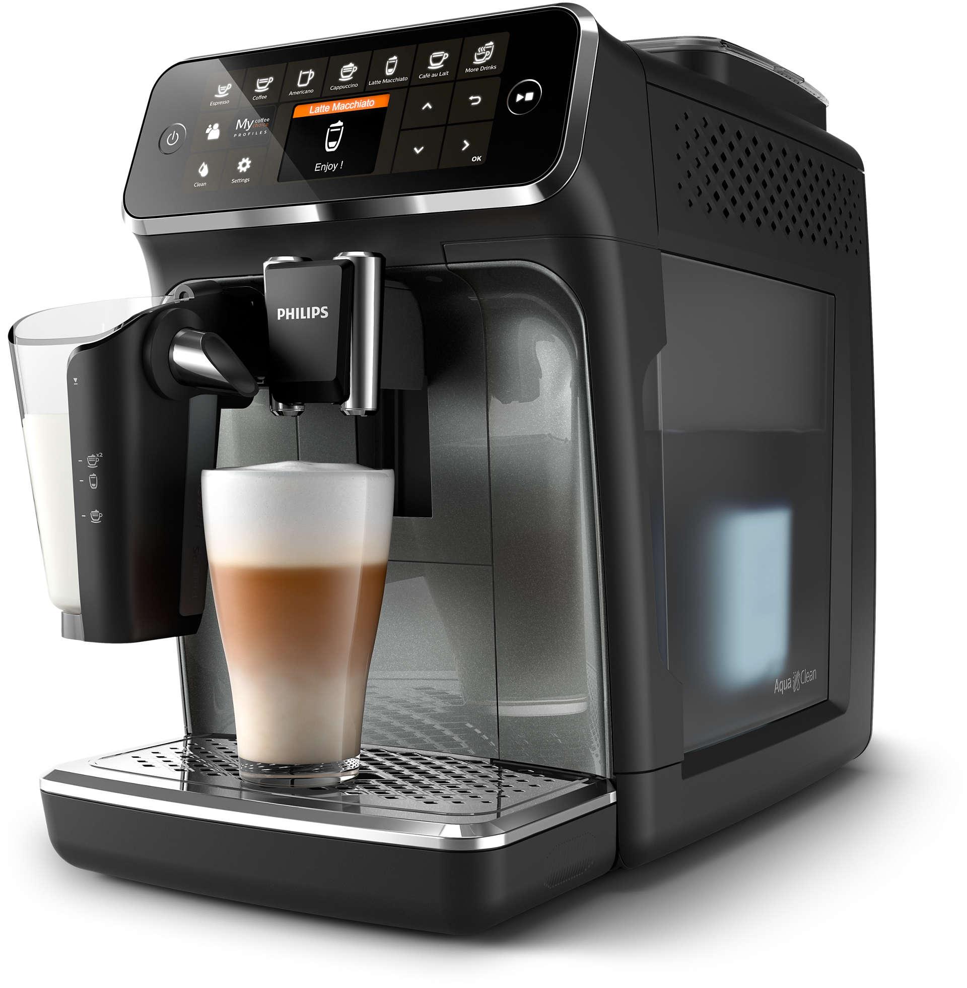 Кофемашина автоматическая Philips EP4349/70 Black