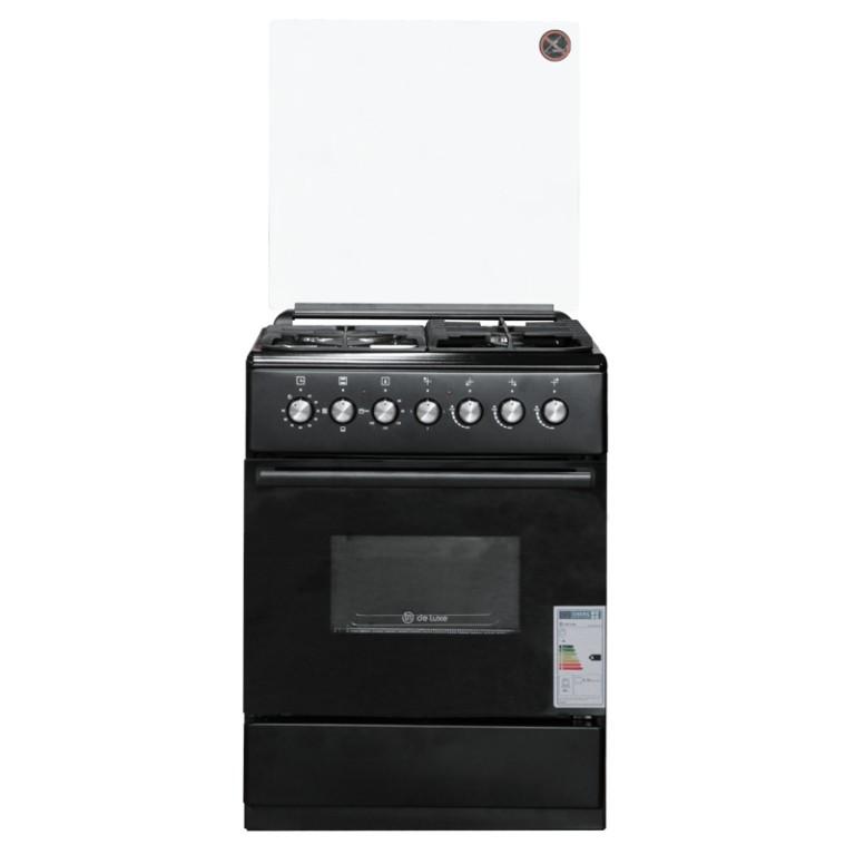 Комбинированные плиты DeLuxe 606031.00гэ 003(кр) ЧР Black