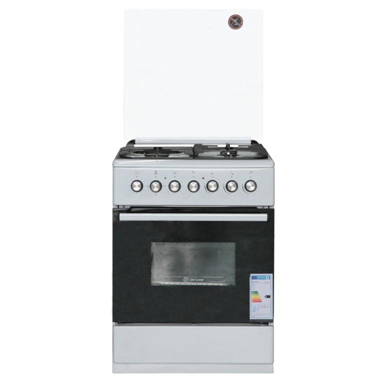 Комбинированная плита DeLuxe 606031.00гэ 001(кр) ЧР White