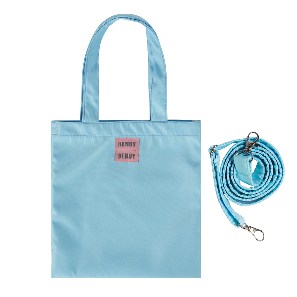 Маленькая сумка Handy Bendy со съемной ручкой, голубой