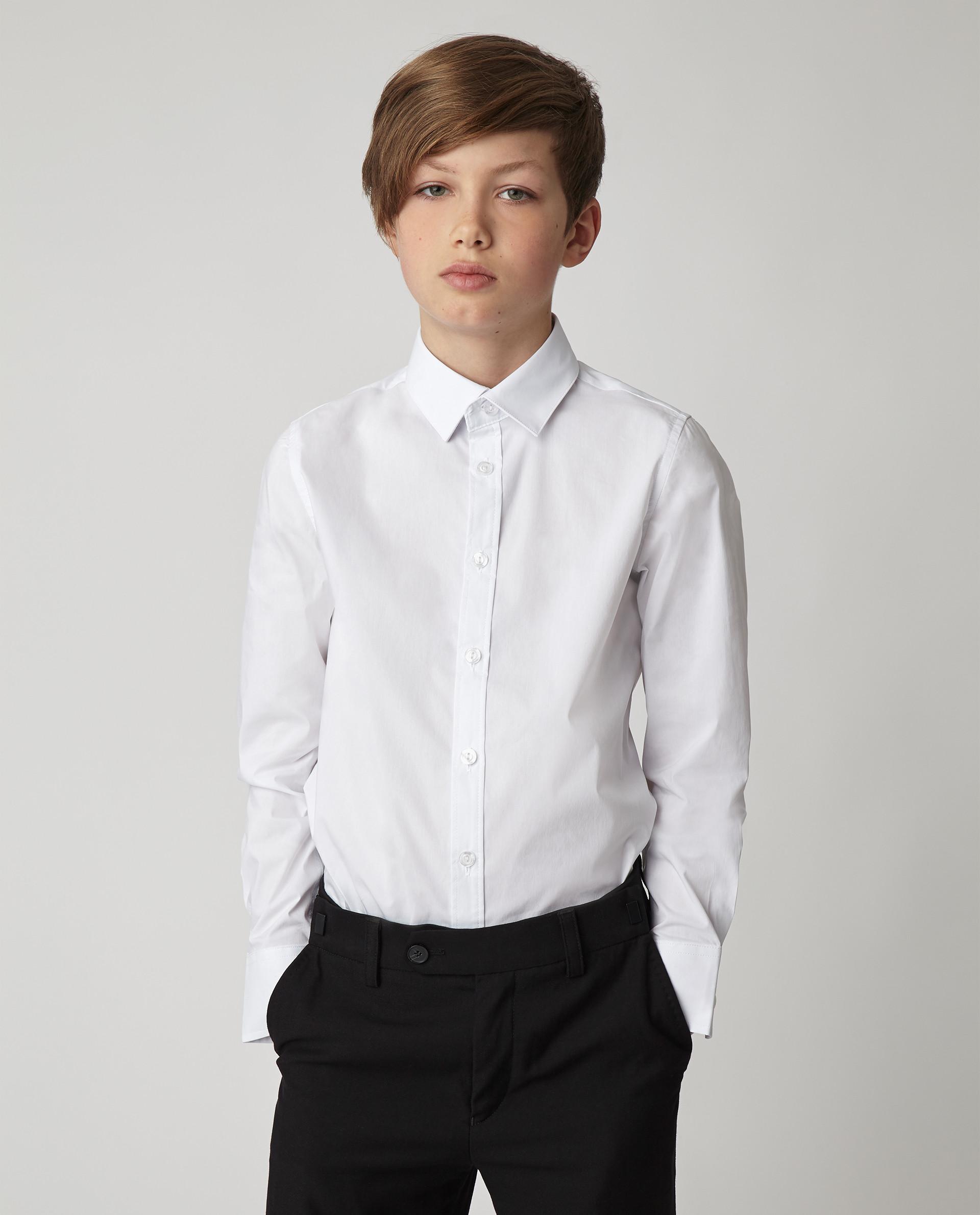 Купить Белая рубашка Gulliver, модель 220GSBC2305, р. 170,