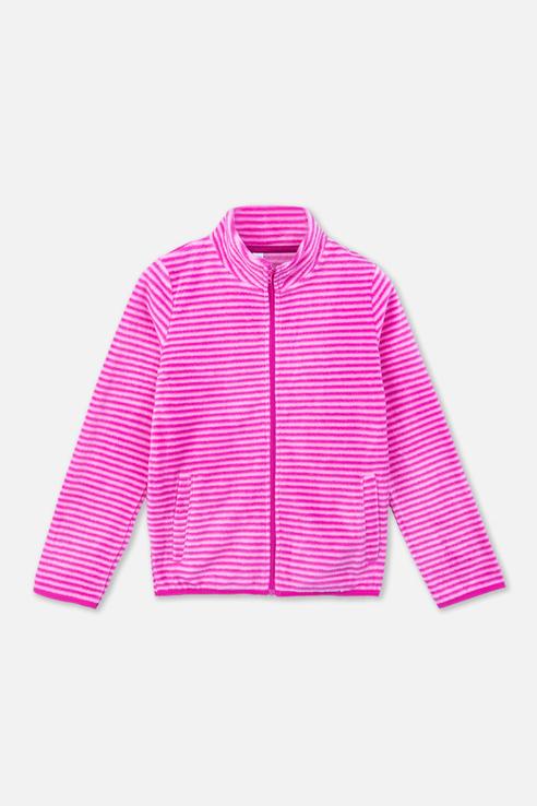 Купить 392109, Флисовая толстовка для девочки PlayToday, цв.розовый, р-р 116, Play Today,