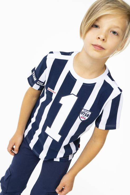 Футболка для мальчика Gulliver, цв.синий, р