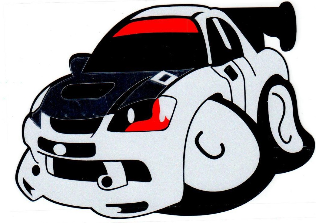 Наклейка светоотражающая Mashinokom Спорт авто NKT 0353