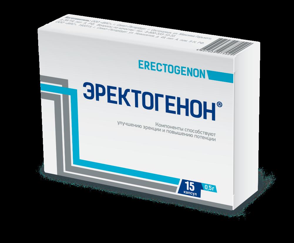 Биологически активная добавка Эректогенон капсулы 30 шт.