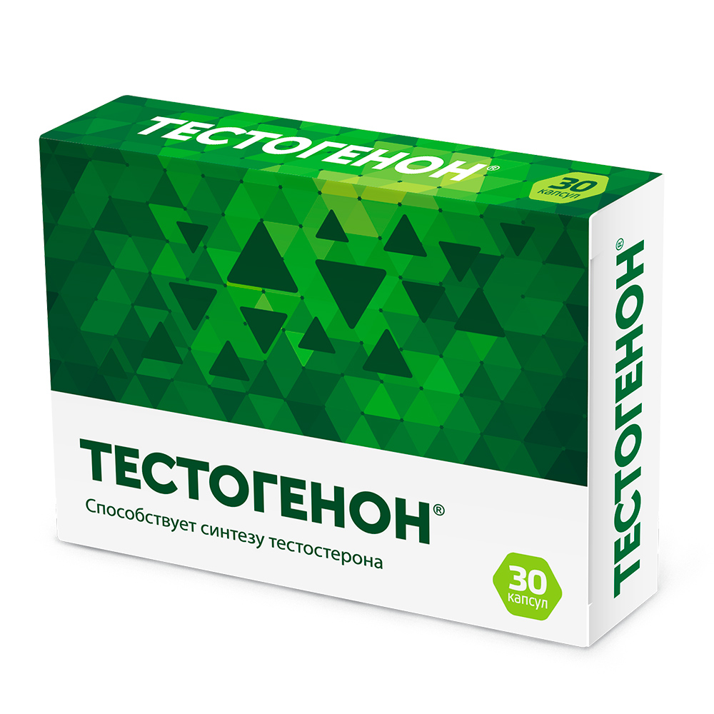 Биологически активная добавка Тестогенон капсулы 30 шт.