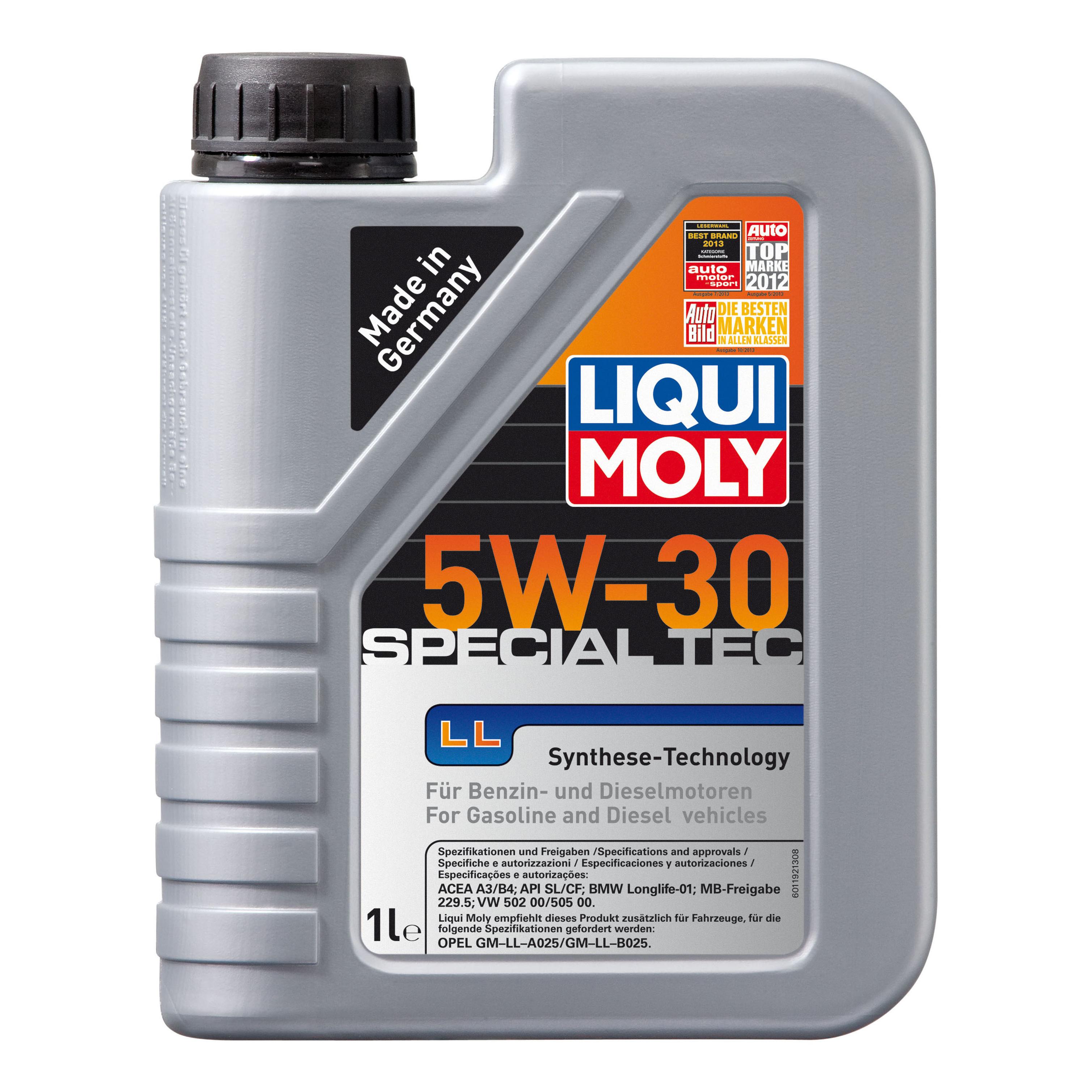 Моторное масло Liqui moly Leichtlauf Special LL 5W-30 1л