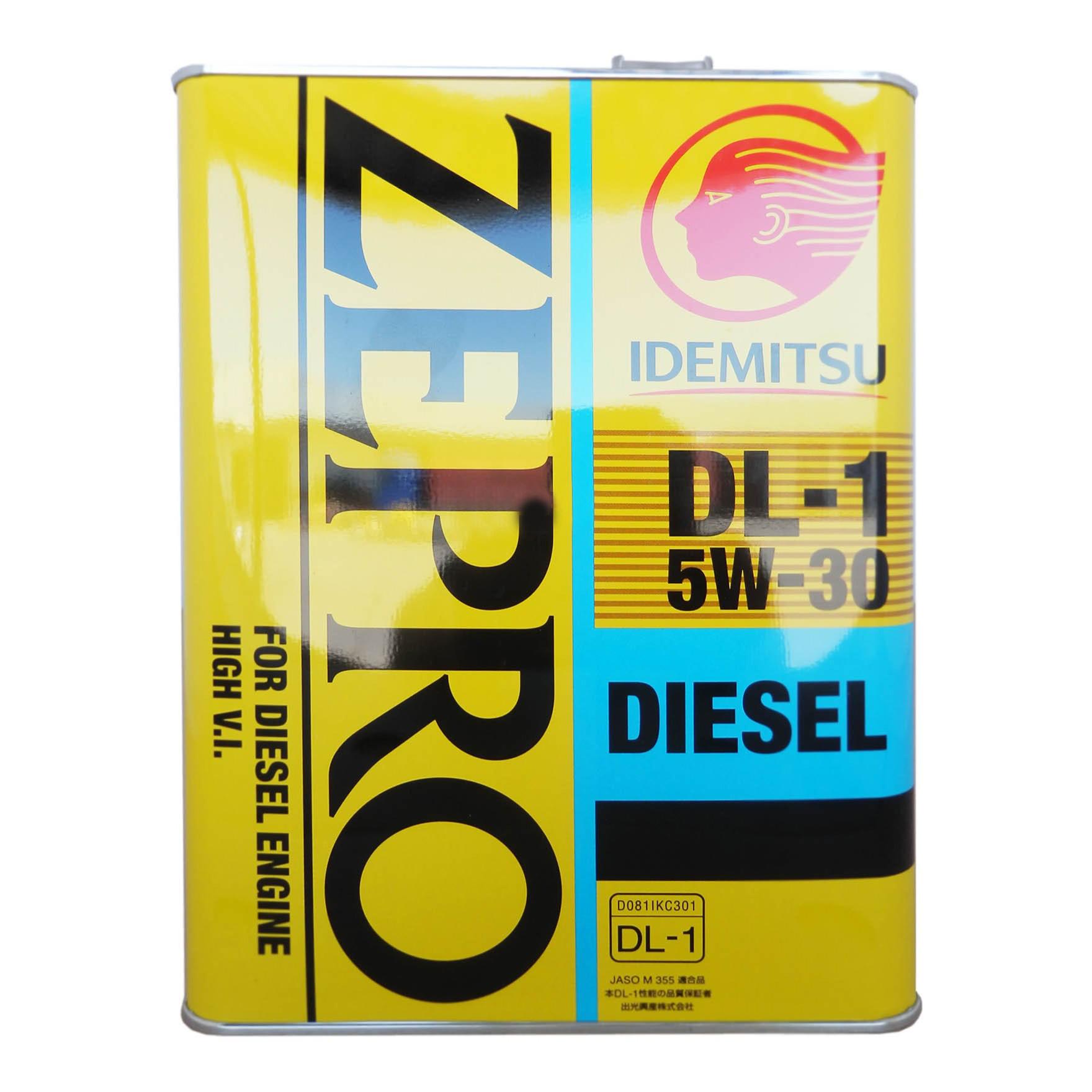 Моторное масло Idemitsu Zepro Diesel DL-1 5W-30 4л
