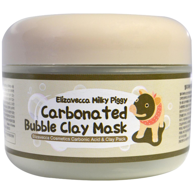 Купить Маска для лица Elizavecca Milky Piggy Carbonated Bubble Clay Mask 100 г