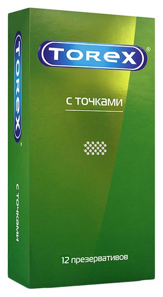 Купить Презервативы Torex со стимулирующими точками 12 шт.