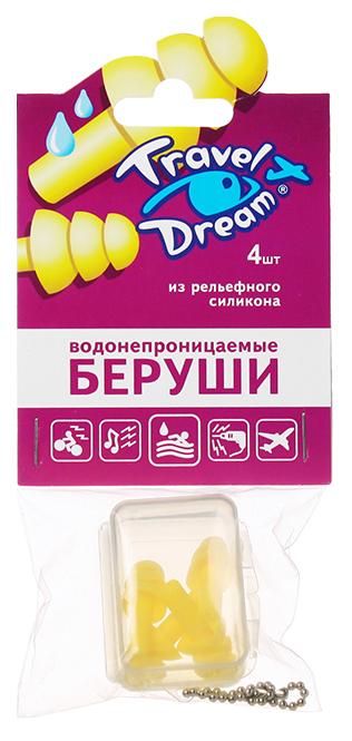 Купить Беруши ТрэвелДрим силиконовые защита от воды N4 (2 пары), Travel Dream