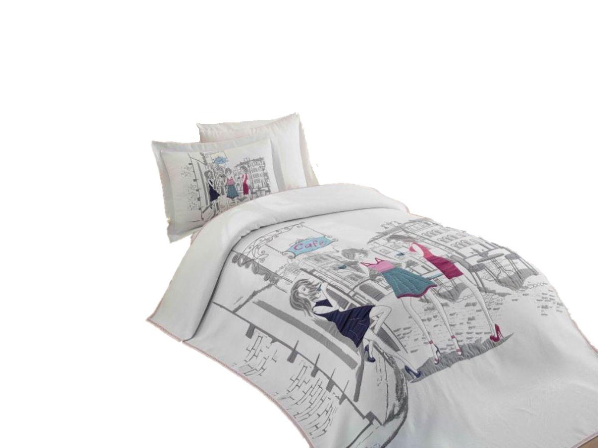Купить Постельное белье HOBBY home collection VIENNA с покрывалом жаккард, Hobby Home Textile,