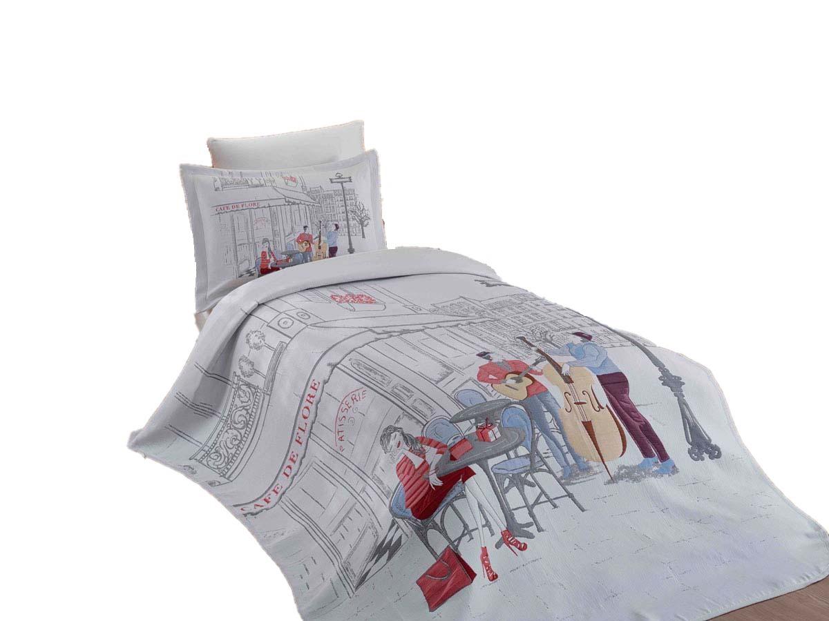 Купить Постельное белье HOBBY home collection MARSELE с покрывалом жаккард, Hobby Home Textile,