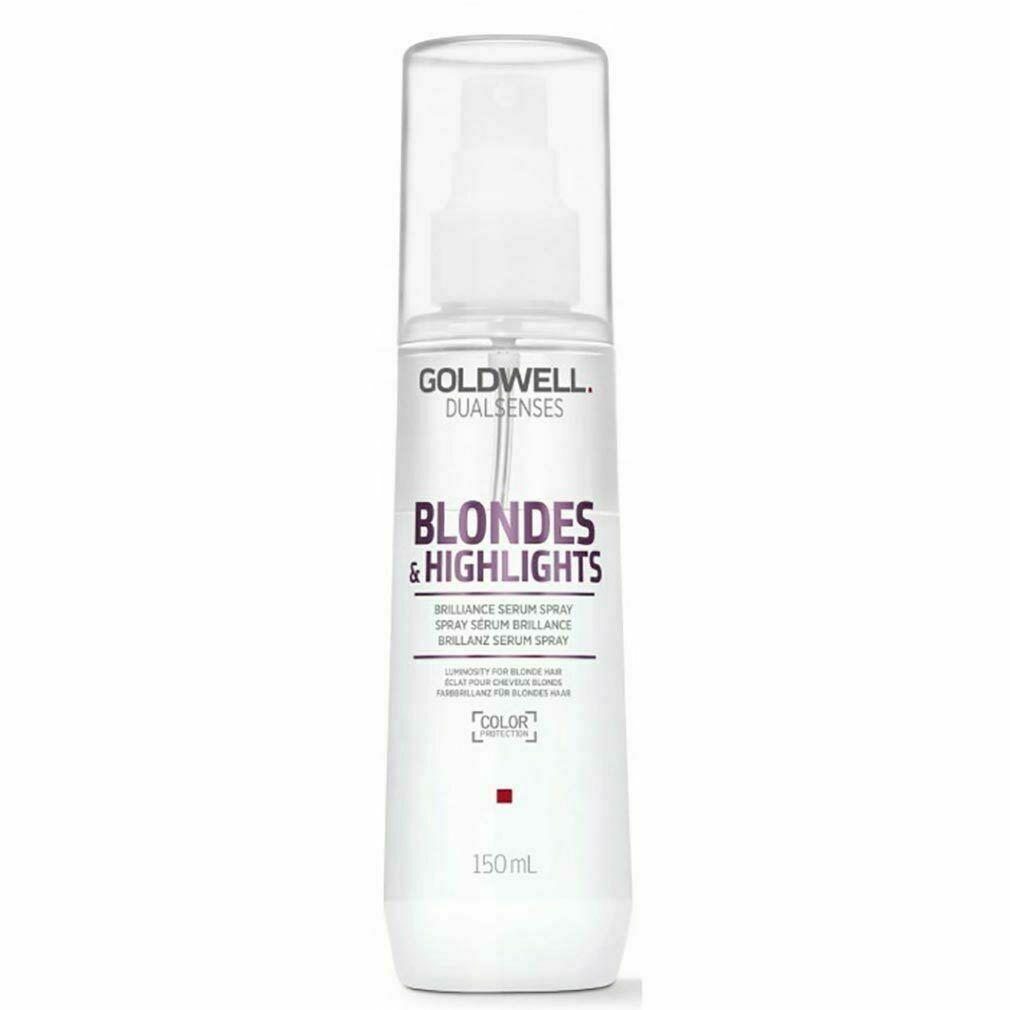 Купить Сыворотка-спрей для блеска осветленных волос Goldwell DS BL&HL 150 мл