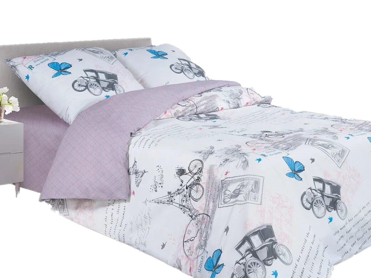 Купить Постельное белье Адель Елисейские поля поплин, 145x210, Комплекты детского постельного белья