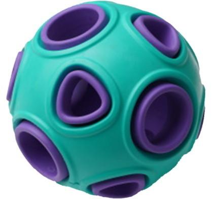 Развивающая игрушка для собак HOMEPET мяч, зеленый,