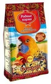 Основной корм  для попугаев Родные корма