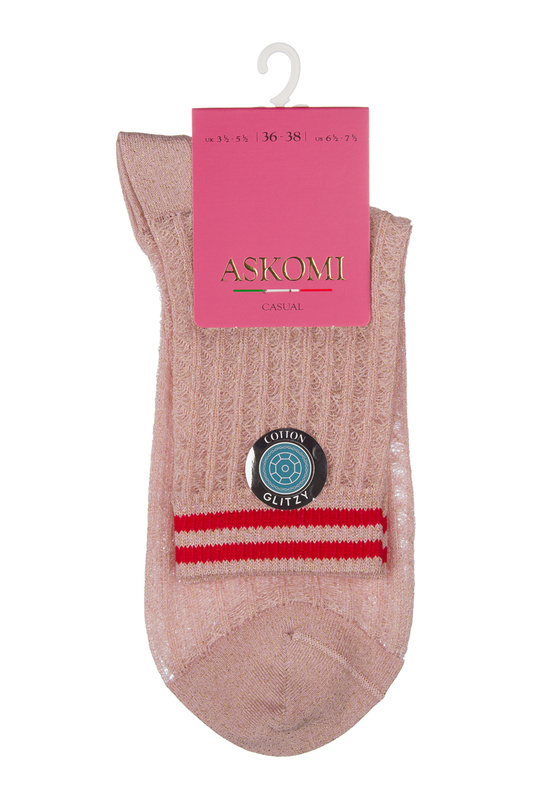 Носки женские ASKOMI AG-5450 розовые 25 ASKOMI   фото
