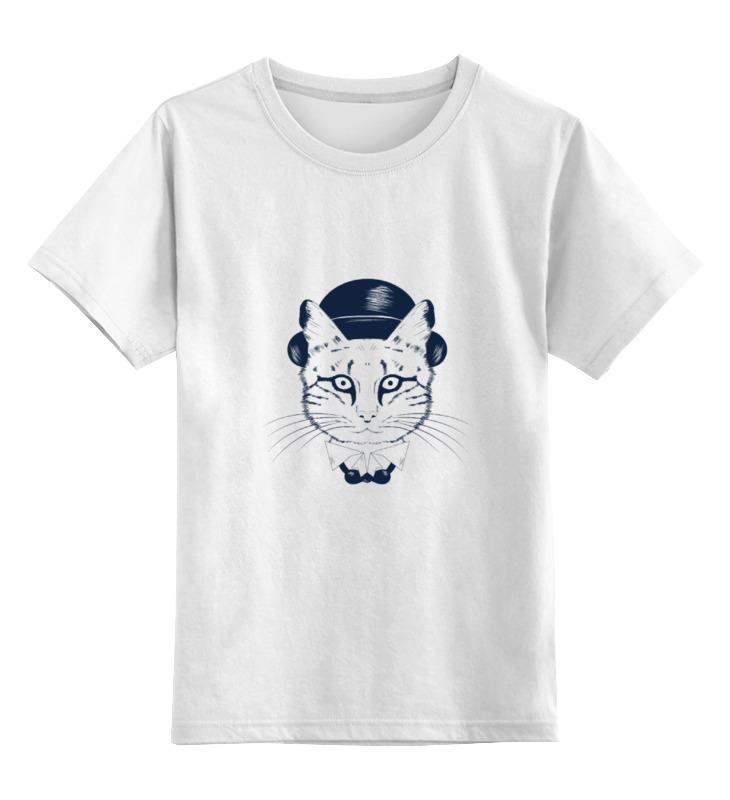 Купить 0000000710100, Детская футболка классическая Printio The cat in the hat, р. 104,