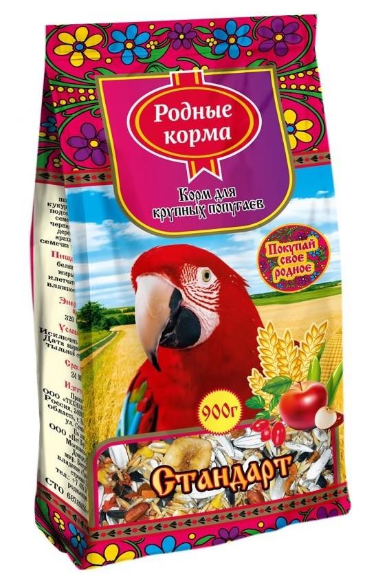 Основной корм  для крупных попугаев Родные